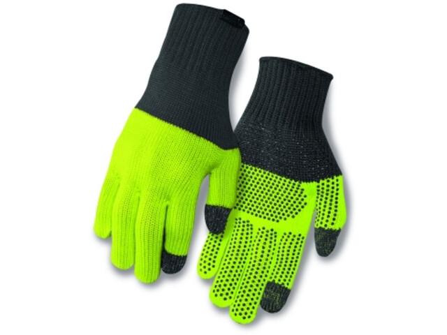 Giro Merino Wool Gloves grey/wild lime